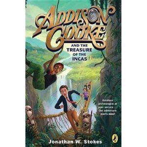 🌼4/$25 NWT Addison Cooke & Treasure Incas book